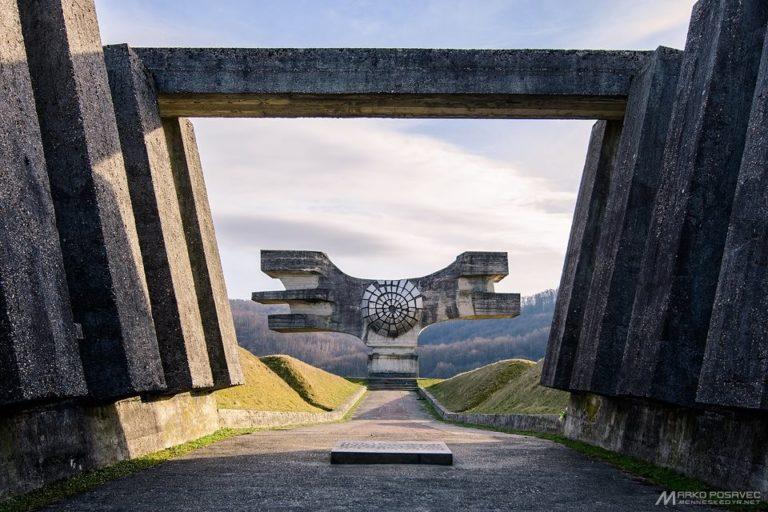 Moslavačka gora, spomenik, foto: Marko Posavec