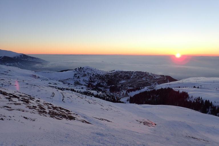 Izlazak sunca na Šar planini