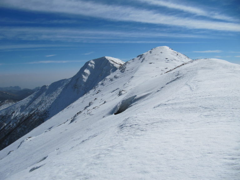 Velebitski masiv zimi