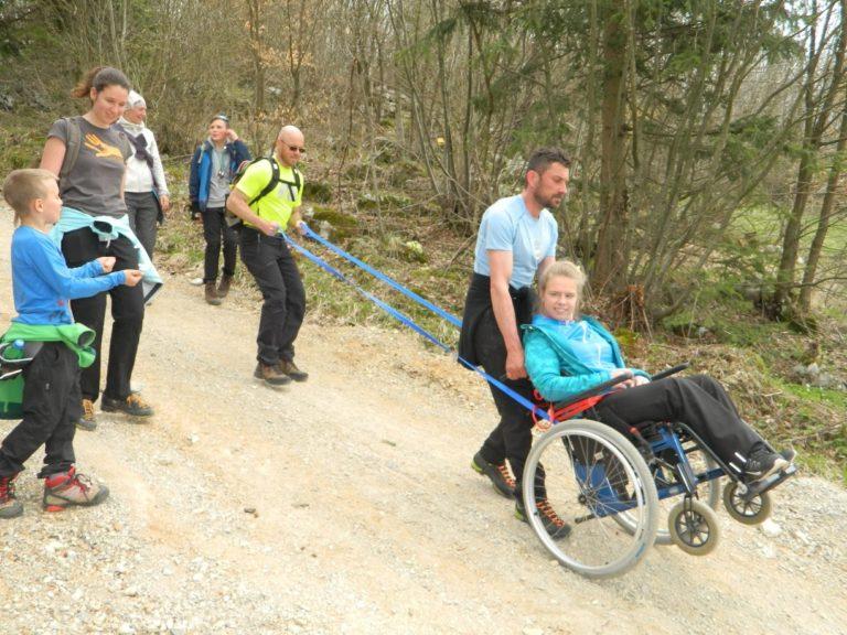Vježba vođenja osoba s invaliditetom u Sloveniji