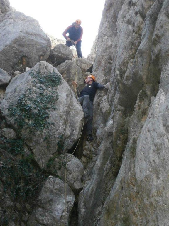 Varaždinski planinari u kanjonu Triget
