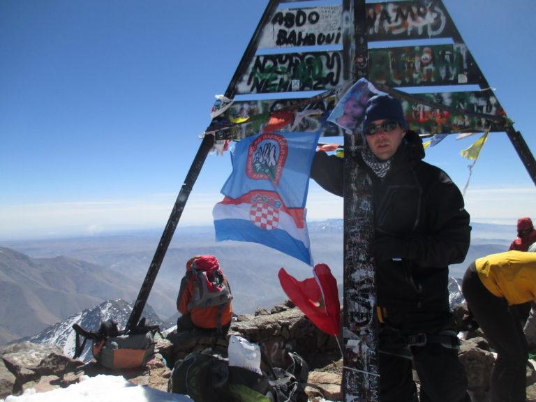 Vrh Atlasa 4167 m