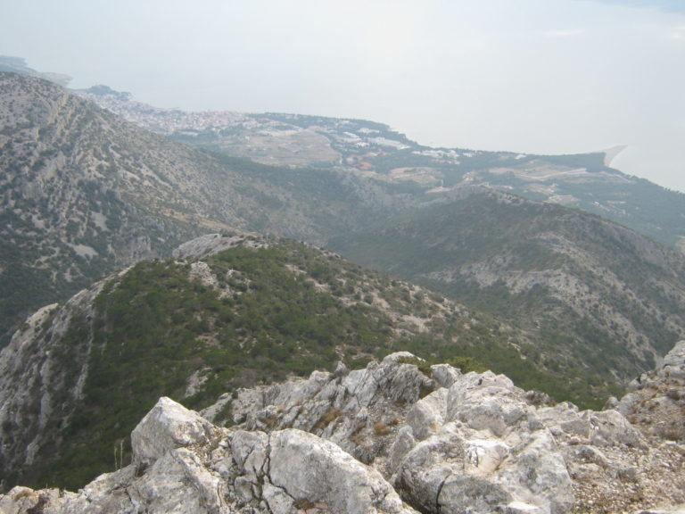 Pogled na Bol s vrha