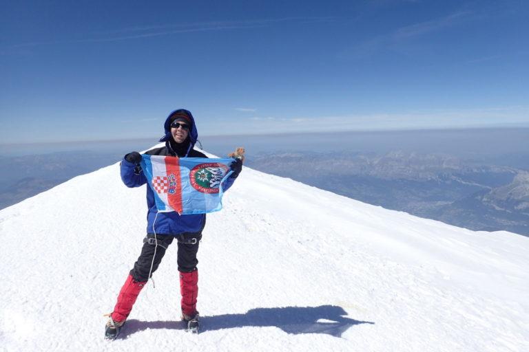 Vrh Mont Blanc 4180m