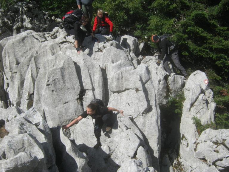 Penjanje u Kolovratskim stijenama
