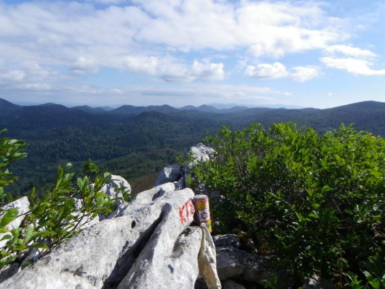 S vrha Kolovratskih stijena
