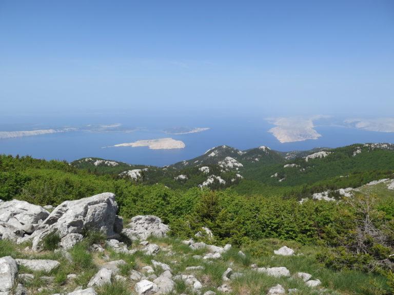 Planine u Hrvatskoj dotiču more