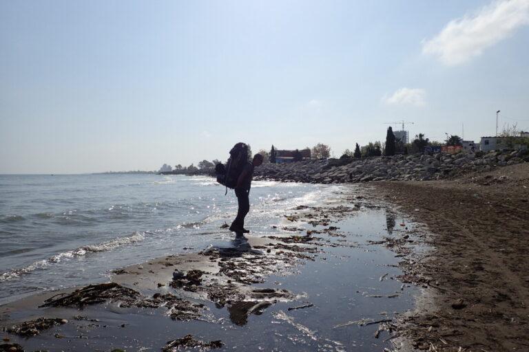 Polazak s Kaspijskog mora